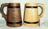 Бокалы из дерева ручной работы