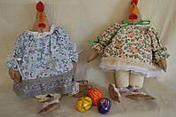 """Шитая авторская игрушка """"Курица-модняшка в ппатье прованс"""", 250\210 (цена за 1 шт. + 40 гр.)"""