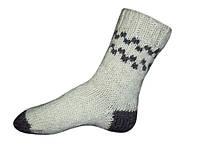 Носки шерстяные ручной вязки