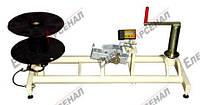 Станок для перемотки кабеля с катушки на катушку — СОЛО-520 КР (ручной привод)