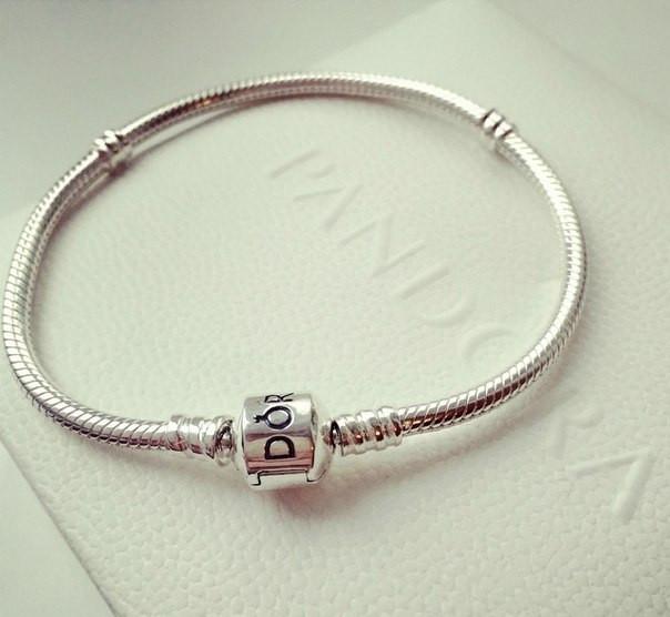 пандора браслет серебро браслет Pandora 18 см купить цена в киеве