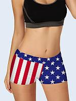 Мини-шорты Флаг Америки