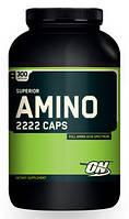 Superior Amino 2222 Optimum Nutrition, 300 капсул