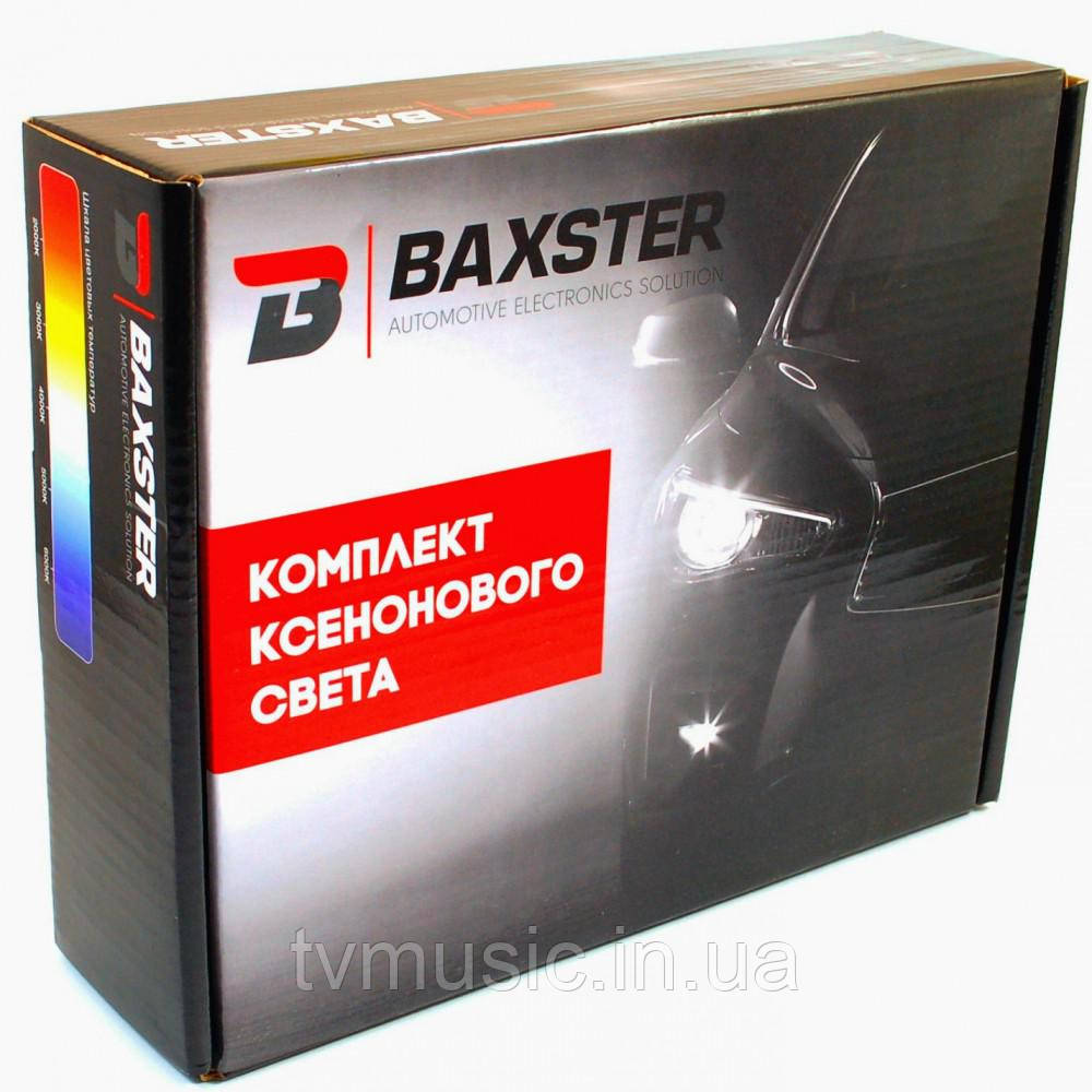 Комплект ксенонового света Baxster H1 6000K