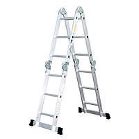 Лестница шарнирная Кентавр 4х3