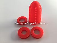 Диффузор силиконовый для кальяна-Красный, фото 1