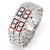 Часы Iron Samurai silver-red, фото 1