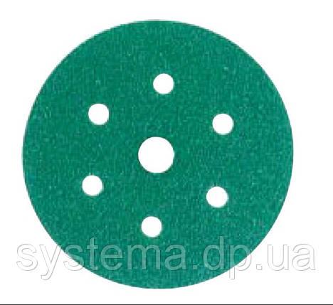 3М™ Hookit™ 245 - Шлифовальный круг, 150 мм, 7 отверстий, P80, фото 2