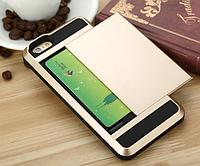 Черный силиконовый чехол с тайником Verus для Iphone 5/5S, фото 1