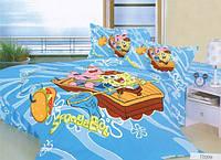 Постельное белье детское полуторное TD-209 160х240см сатин Word of Dream