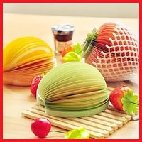 Отрывные блокноты для заметок в форме овощей и фруктов