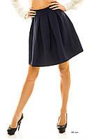 Женская юбка клеш 085 жан