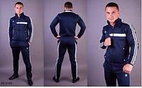 Мужской спортивный костюм Adidas т. синий