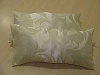 Комплект подушек 2шт, слоновая кость