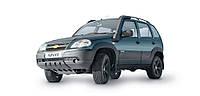 Защита картера двигателя и КПП Шевроле Нива (2002-) Chevrolet Niva