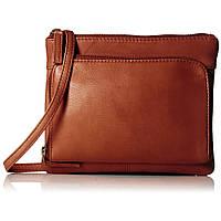 Кожаная сумка-планшет женская Visconti 01684 Brown