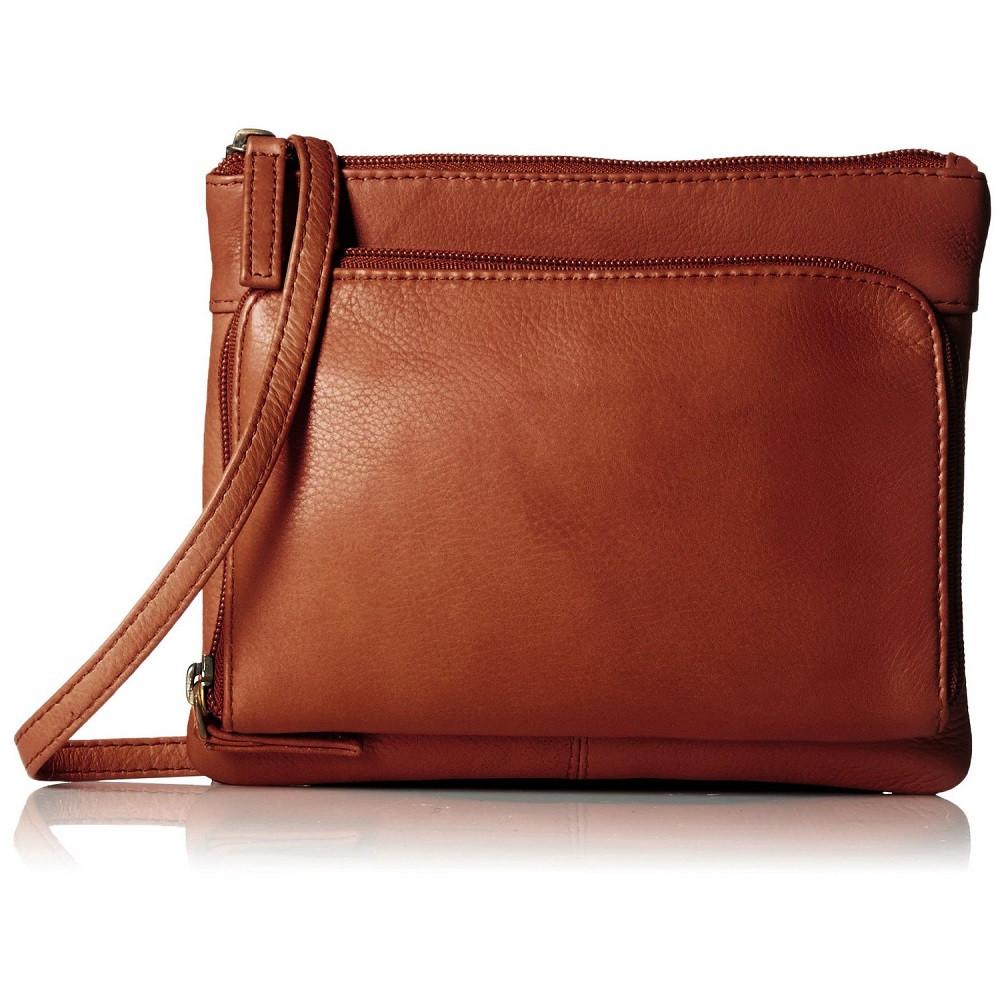 4205d4b5d700 Кожаная сумка-планшет женская Visconti 01684 Brown - купить по ...