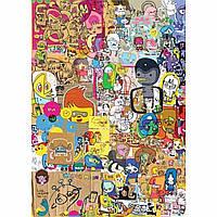 Пазл Heye - Карикатуры (Jon Burgerman, Merzdoodle)