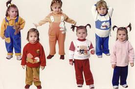 Роль цвета в детской одежде