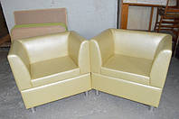 Кресло из кожзама, мягкая мебель от производителя
