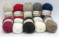 Пряжа для ручного вязания alpine alpaca yarnart / альпина альпака ярнарт