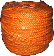 Канат кручений поліпропіленовий 8,0мм*200м, фото 1