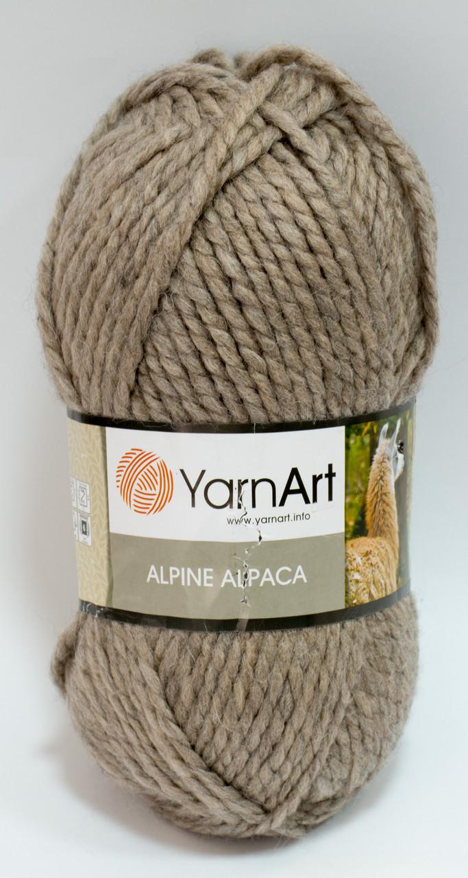 Пряжа alpine alpaca - цвет бежевый