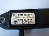 Датчик регулировки давления воздуха на Renault Trafic 1.9dCi (2001-2006) Renault (оригинал) 223657266R, фото 2