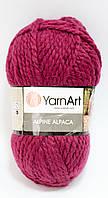 Пряжа alpine alpaca - цвет бордовый