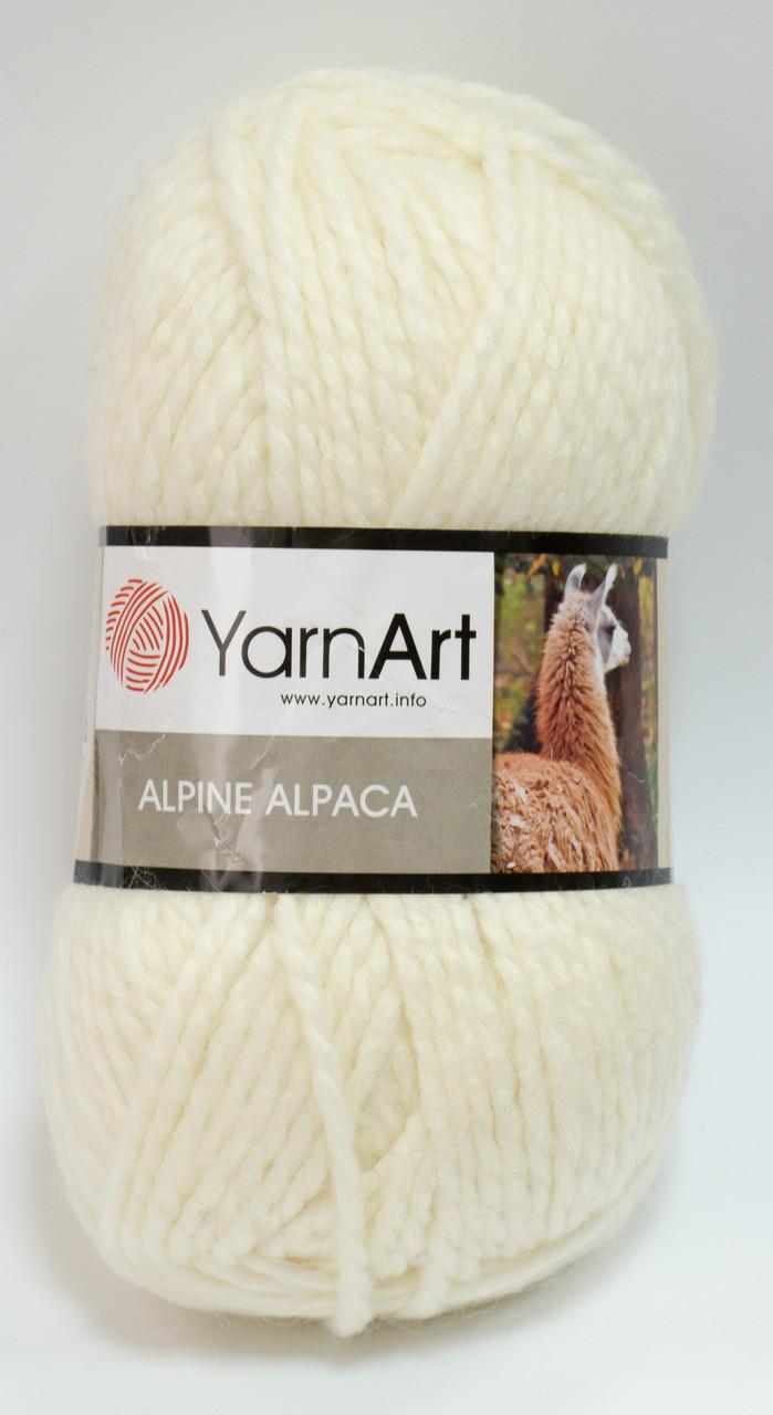 Пряжа alpine alpaca - колір кремовий
