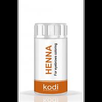 Хна для окрашивания бровей (темно-коричневая), 5г Kodi Professional