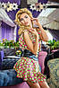 Летнее платье с поясом (Trend sk), фото 3