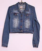 Модный женский джинсовый пиджак Турция