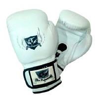 Боксерские перчатки Thai Professional BG5VL White