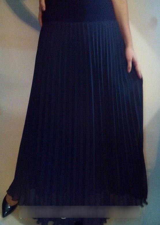 Шифоновая юбка гофре