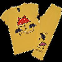 Костюм футболка+лосины, Турция на 1-2 года