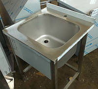 Моечная ванна штампованная из нержавеющей стали