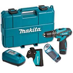 Шуруповерт аккумуляторный Makita DF330DWLE