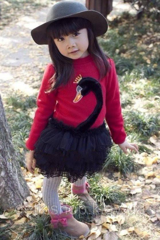 Платье «Лебедь» (красное)