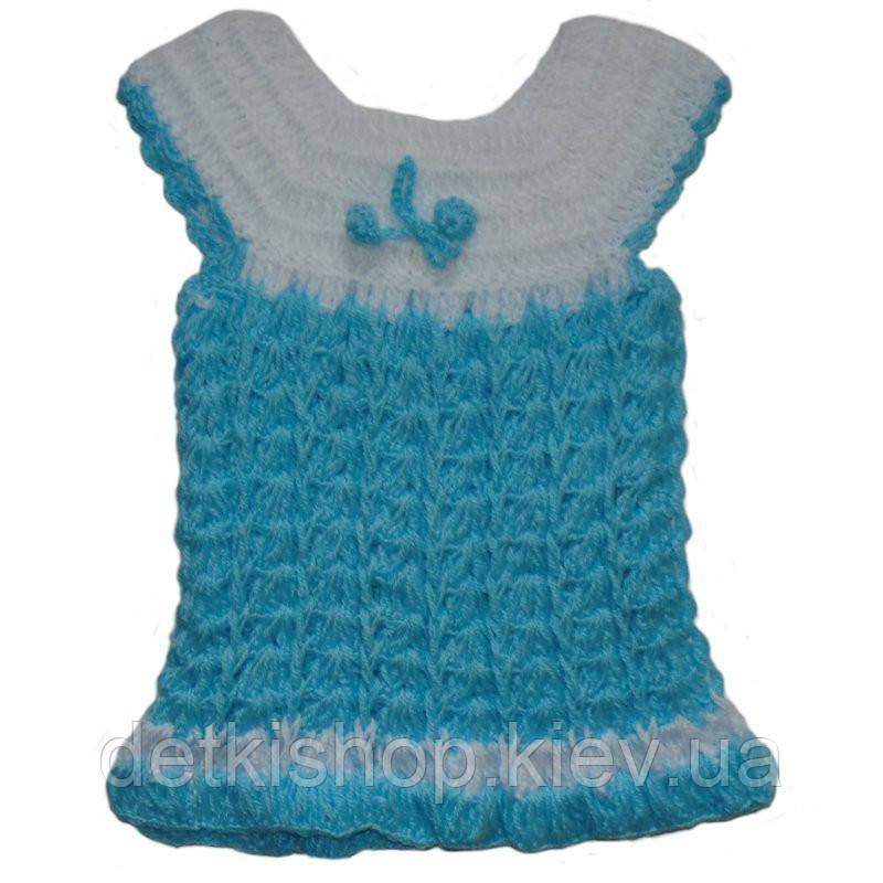 Платье-туника (голубое)