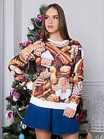 Свитшот Новогоднее печенье