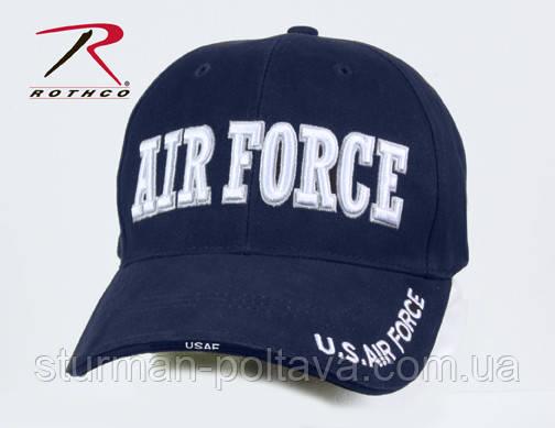 Бейсболка голубая Авиационый корпус ВВС  AIR FORCE