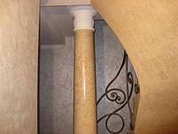 Венецианская штукатурка на колонах