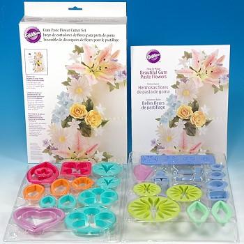 Набор для изготовления Цветов из мастики,26 предметов (код 4665)