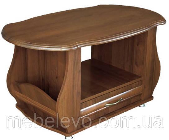 Стол журнальный  Ретро 490х1015х602мм орех   Мебель-Сервис