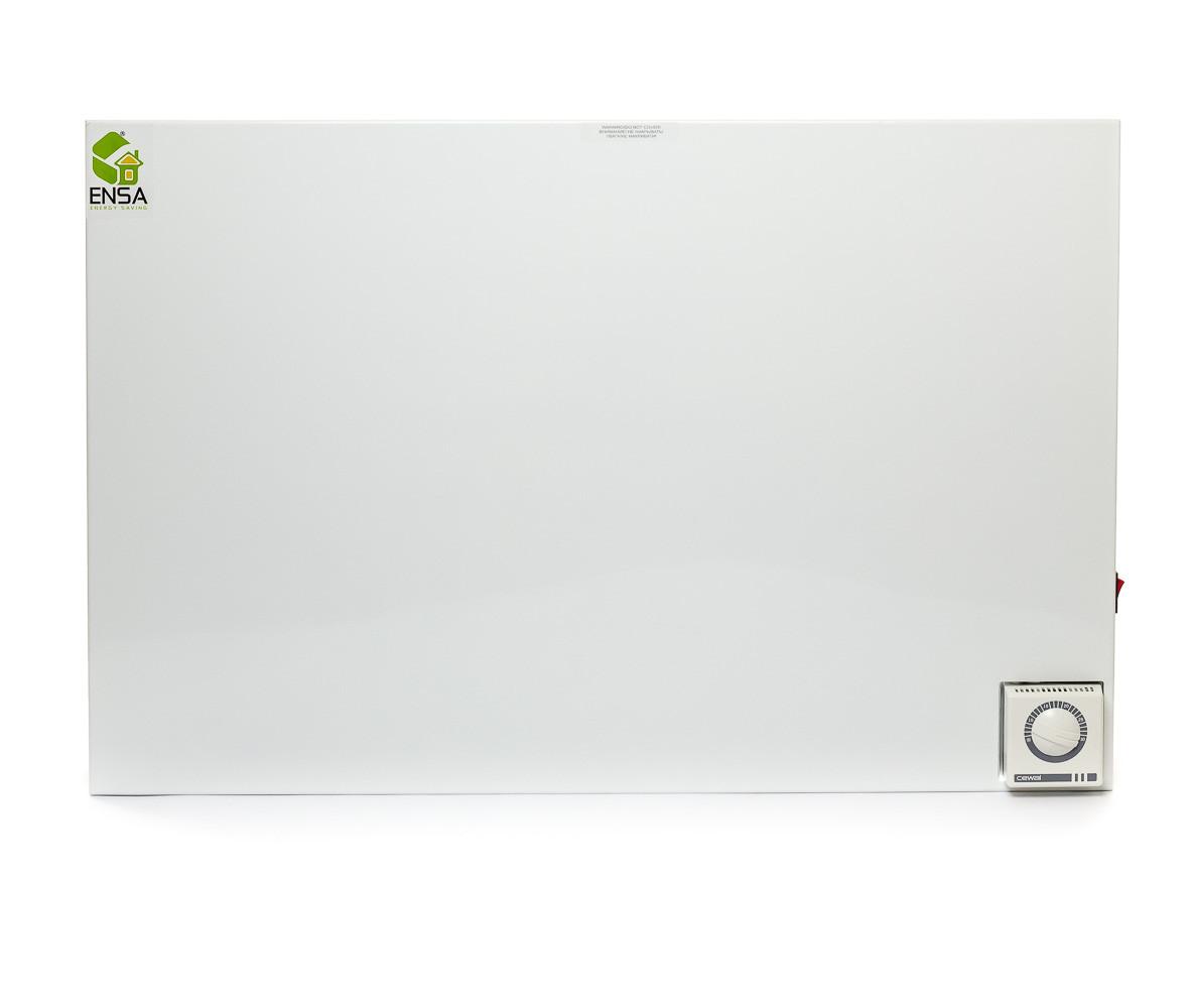 Настенный инфракрасный обогреватель с терморегулятором Ensa P500T (500Вт 10м2)
