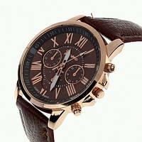 Женские часы GENEVA Platinum под золото.