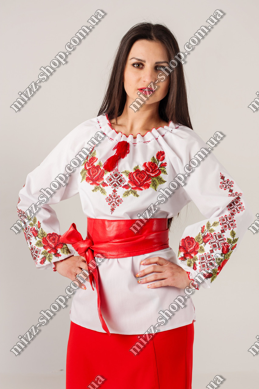 Женская нарядная вышиванка
