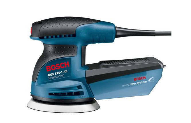 Шліфмашина ексцентрикова Bosch GEX 125-1 AE Professional, фото 2