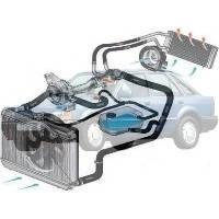Система охолодження Ford Escort Форд Ескорт 1986-1990